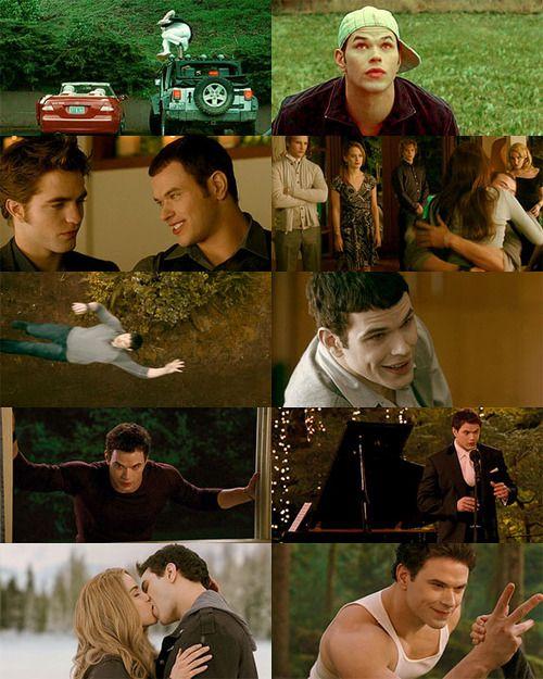 Emmett in Twilight, New Moon, Eclipse, Breaking Dawn, Breaking Dawn part 2