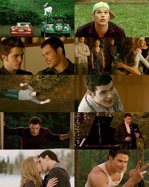 Emmett in Twilight, New Moon, Eclipse, Breaking Dawn, Breaking Dawn part 2