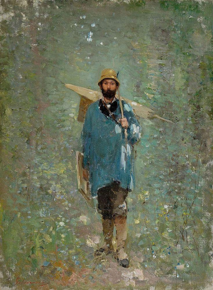 Portrait of Ion Andreescu (Nicolae Grigorescu - )