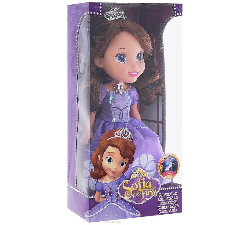 """Купить disney princess кукла """"принцесса софия"""", 37 см - детские товары Disney Princess в интернет-магазине OZON.ru, цена disney princess кукла """"принцесса софия"""", 37 см."""