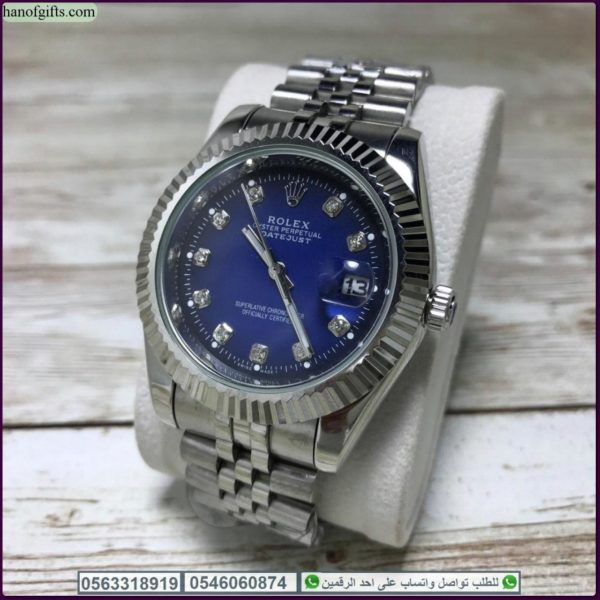 ساعات رولكس بطاريه Rolex رجالي مع علبه فخمه وكرت الماركه Rolex Watches Omega Watch Rolex
