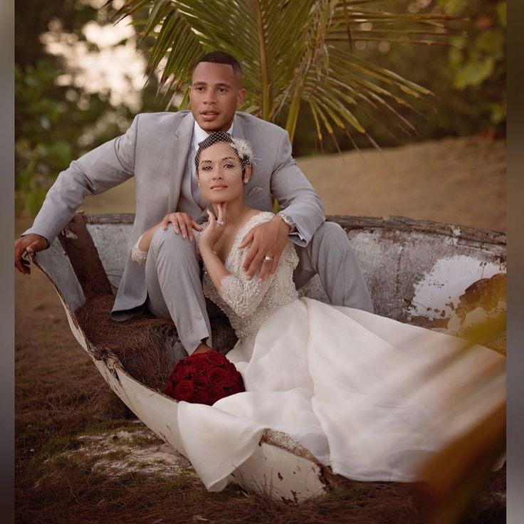 Married 'Empire' Stars Trai And Grace Byers Share Never-Before-Seen Wedding Photos On Their Anniversary