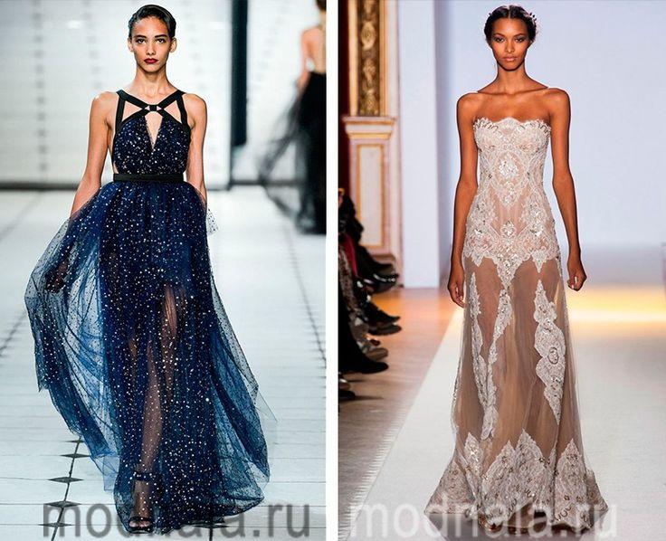 модные вечерние платья без рукавов