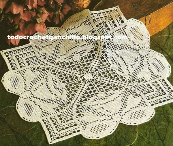 188 best gráficos ganch. navidad images on Pinterest | Crochet ...