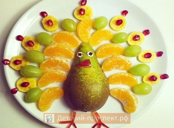 Украшение праздничного детского стола, оформление блюд на детский день рождения (20)