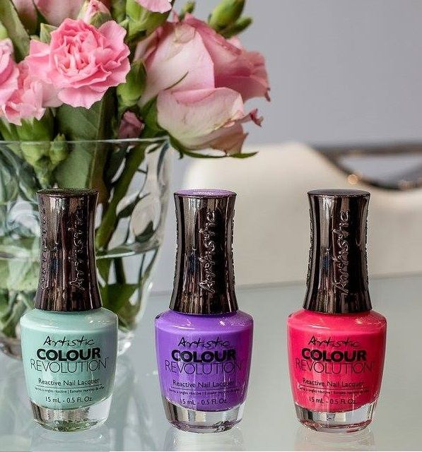 Artistic Colour Revolution available at Louella Belle #ArtisticNailDesign #ArtisticColourRevolution #ArtisticColourGloss #Nails #Manicure #NailPolish #LouellaBelle