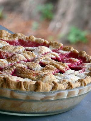 rasberry pie recipe- try with blackberries and blueberries as well.