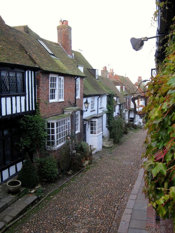 Cobblestone streets, half-timbered Tudor houses, flower boxes burgeoning with color and charm beyond measure. This is Rye. (East Sussex, England)