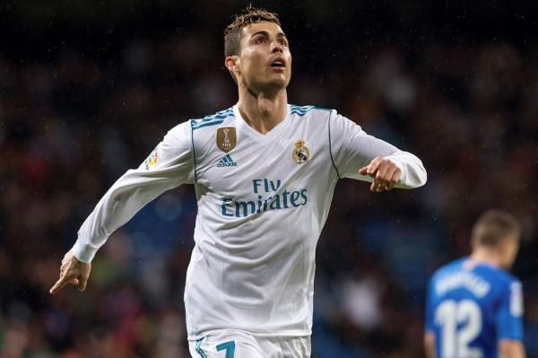 Cristiano Ronaldo nets two, Real Madrid beats Getafe