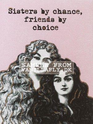 GREETING CARD SISTERS (6-pack) #10K97