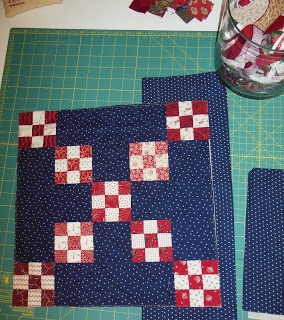 INSPIRED BY ANTIQUE QUILTS - RWB small