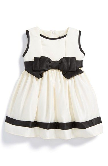 Free shipping and returns on Dorissa Sleeveless Satin Dress (Baby Girls) at Nordstrom.com. Front and back bow details provide irresistible finishing touches for a sleeveless satin party dress fashioned with a full, tulle-lined skirt.
