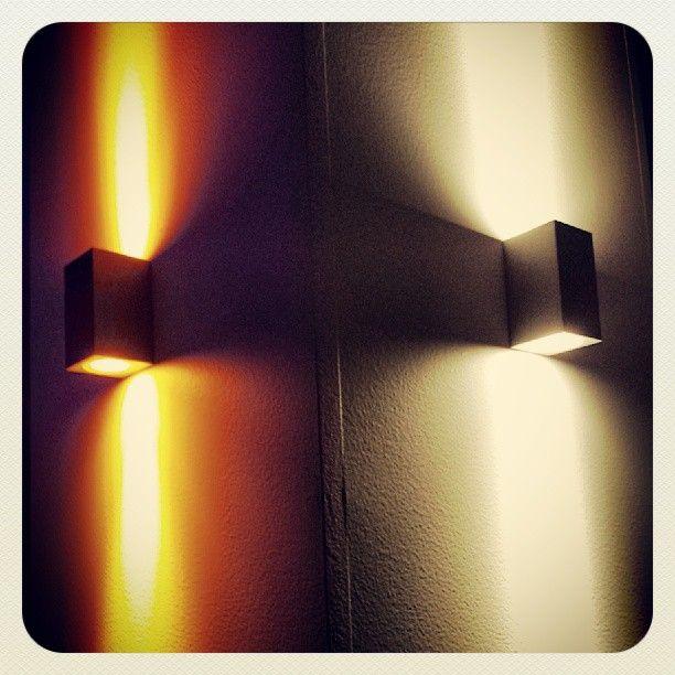 Evergreen Cubic 2 (EV-CUBIC2) LED Wall Lighting #led #lightingdesign  Click here for more: http://domuslighting.com/catalog/led/led-wall-lights/cubic-2/p/products/ev-cubic2-hi-power-led-mini-wall-light