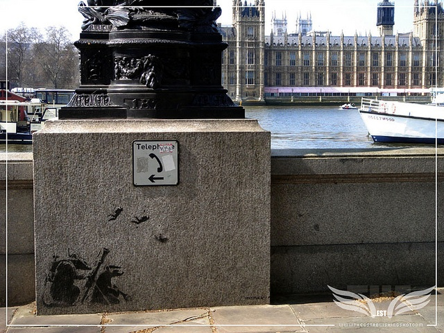 The Establishing Shot: BANKSY RATS, BANKSY RATS, THAMES BOULEVARD, ALBERT EMBANKMENT, LONDON by Craig Grobler, via Flickr