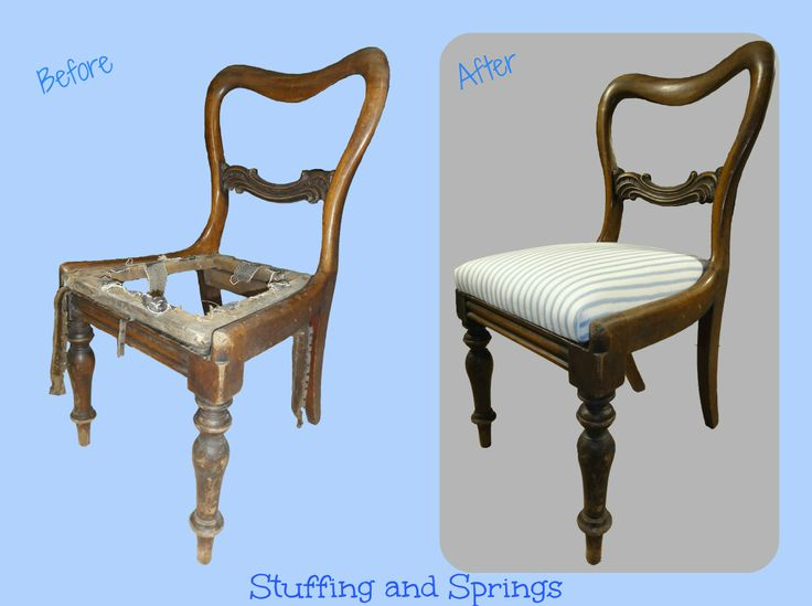 Re Polished U0026 Fully Traditionally Reupholstered Dining Chair.  Re Upholstered Furniture By Stuffing And Springs  (www.facebook.com/stuffingandsprings) | ...