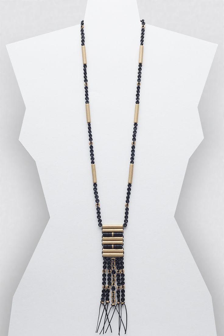 Ella Necklace #necklace #jewellery #jewelry #fashionaccessories #accessories #beadednecklace #ceramicbeads #ethnicstyle #bohostyle