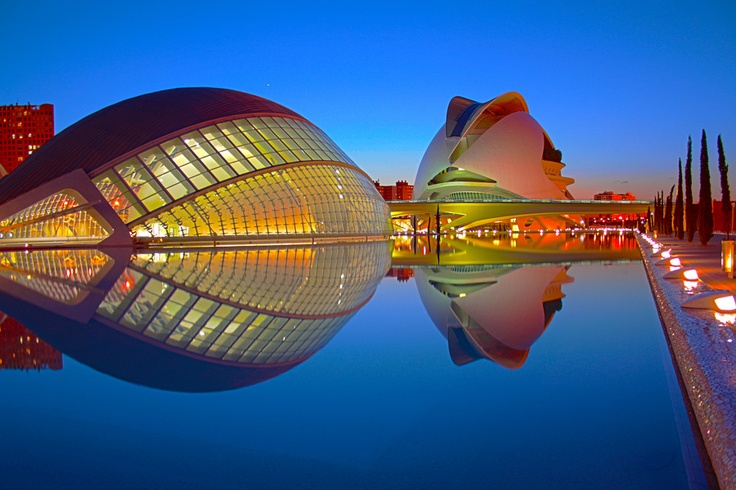 Espana- Tourist Attractions- Hemispheric Opera House