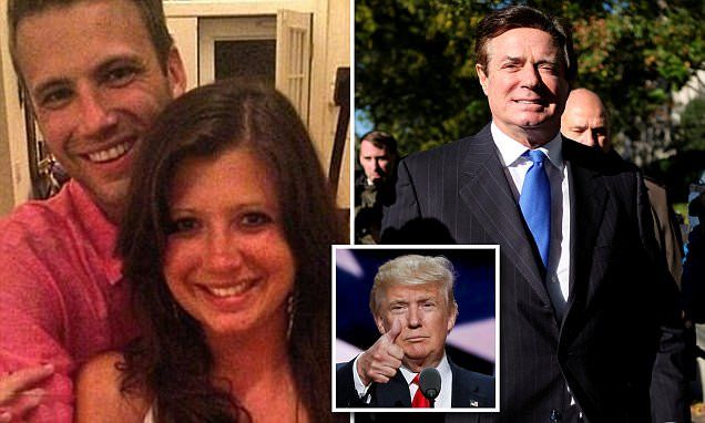 Hacked texts from Paul Manafort's daughter reveal extent of Trump ties