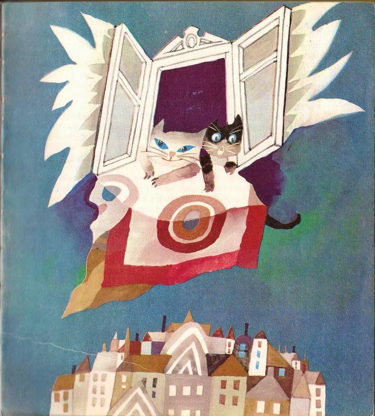 """""""Bajki z zaczarowanego rękawa""""; illustration by Z. Rychlicki"""