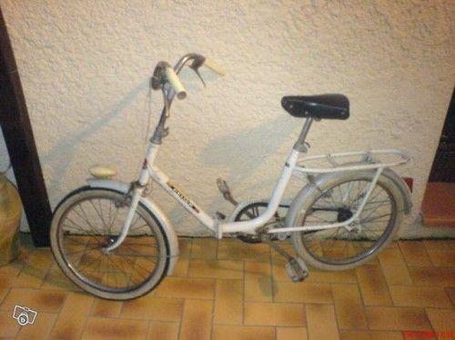 Vélo Pliant Peugeot Hélium Ancien