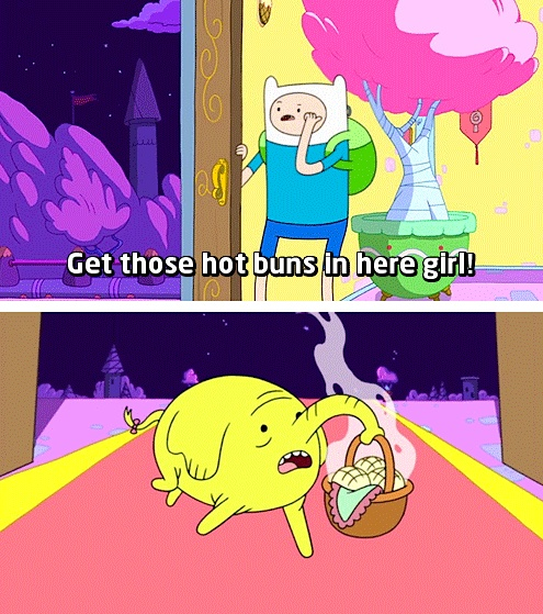 Adventure Time (buns)