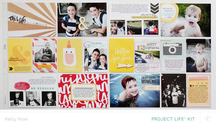 Project Life Weeks 33 & 34 by Kelly Noel at @studio_calico