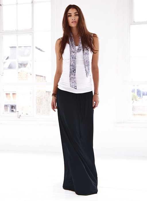 The Relaxed Maxi Skirt || Isabella Oliver