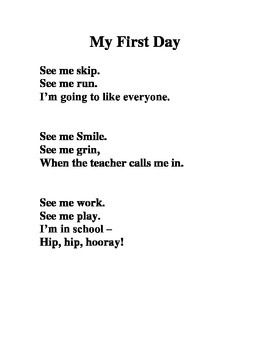poem about school annual day Graduation/ school/ teachers a kid with class a mark of class a no  my first day of school, my mommy cried, but i went for a fun bus ride my old.