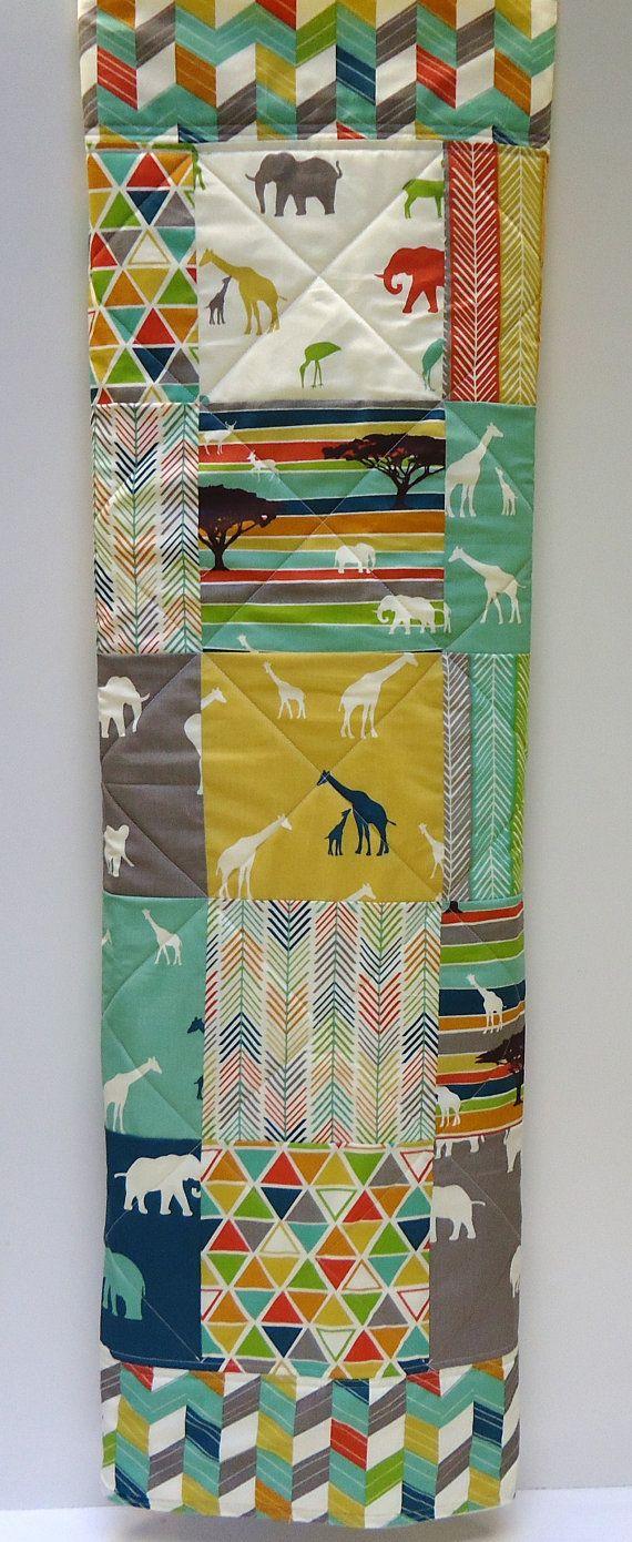 best  elephant baby blanket ideas on pinterest  elephant quilt  - modern baby quiltorganic birch fabrictribal serengeti patchwork cribbeddinggiraffe and elephant baby blanket