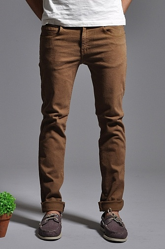 Dr Denim Snap Jeans Coffee