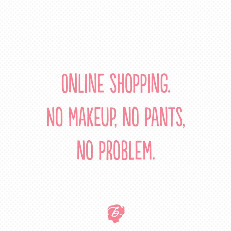 Shoutout to all our online shoppers out there who make not leaving the couch possible, you're the real MVP ;)