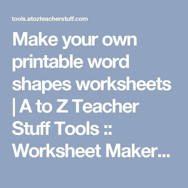 Square Root Worksheet Pdf Word The  Best Handwriting Generator Ideas On Pinterest  Misleading Graphs Worksheet Word with Free Mad Minute Worksheets Excel Make Your Own Printable Word Shapes Worksheets  A To Z Teacher Stuff Tools    Shapes Worksheetshandwriting Sheetscrossword  Bivariate Data Worksheet Pdf