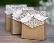 Naturally Vintage Tent Favor Boxes-Set of 25 ~ 31278