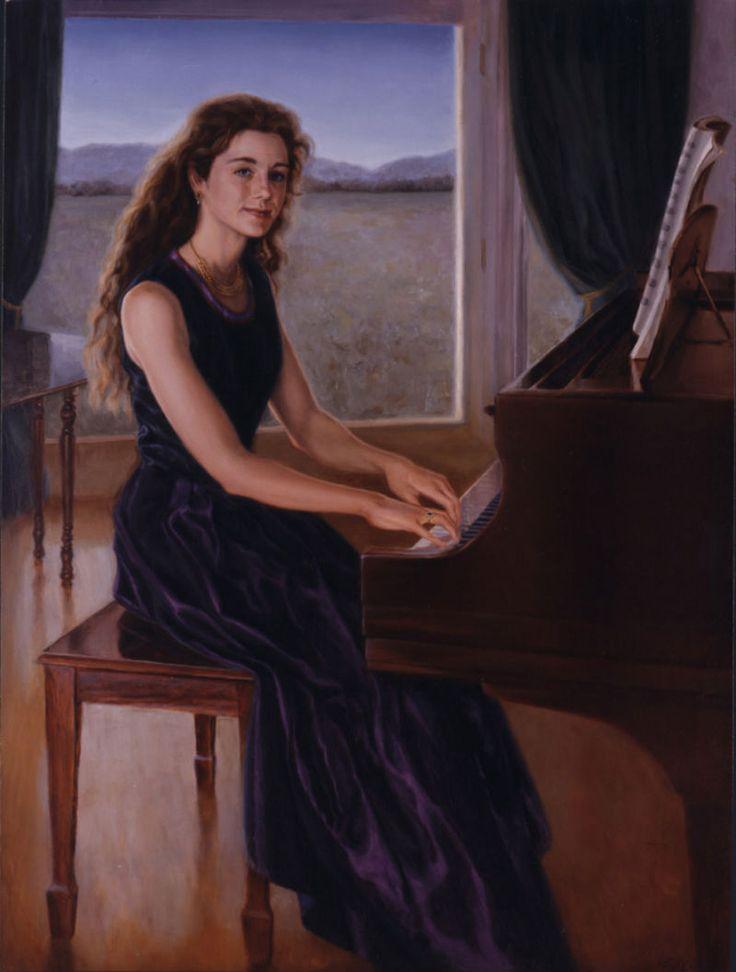 Virgil Elliott, 1944 | Classical Realism painter |