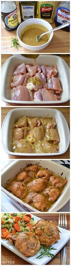 #Recipe : Maple Dijon Chicken