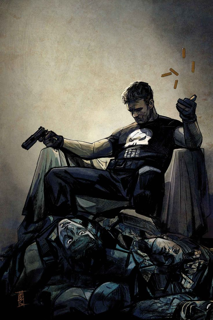 THE PUNISHER #1 VARIANT