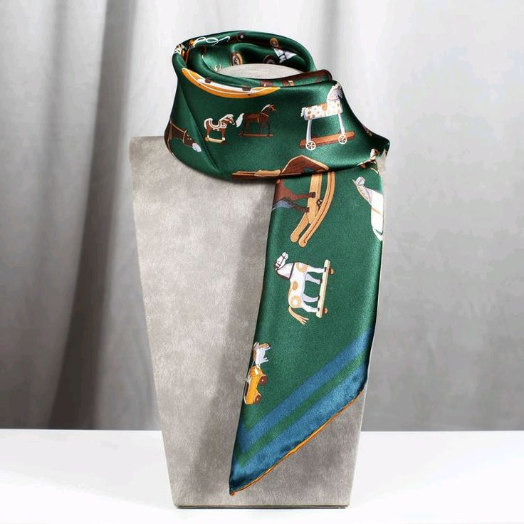 Green Womens Scarves Merry Go Round