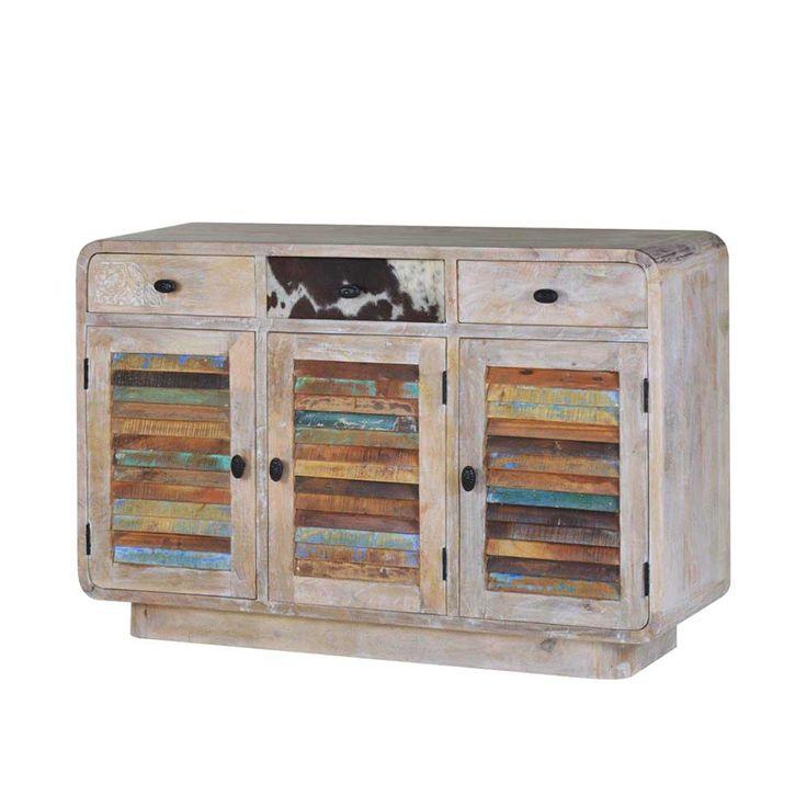 Massivholz Sideboard Im Loft Design Bunt Holz Jetzt Bestellen Unter Moebelladendirektde Wohnzimmer Schraenke Sideboards Uid2e3c88b4 294e 5fa1