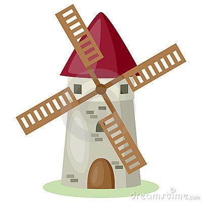 cartoon windmill by roberto giovannini  via dreamstime windmill clip art free windmill clip art png