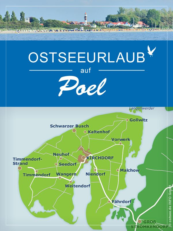 Fehmarn Karte Mit Orten.Hier Locken Der Hauptort Kirchdorf Und Die Orte An Der Küste Wie