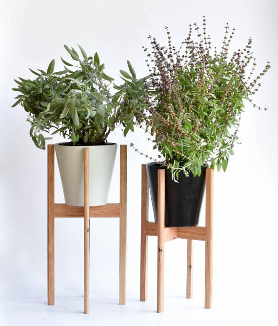 Plant Stand Indoor Mid Century Modern Plant Stand Plant