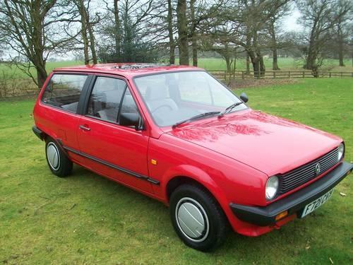 My 1st ever car - a 1989 VW Polo