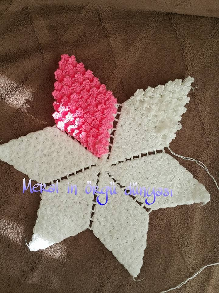 Yıldız Lif Modeli Yapılışı #baby #knit #knitting #handmade #örgü
