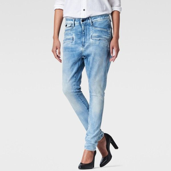 G-Star Raw Dadin 3d Low Boyfriend Wmn ($100) ❤ liked on Polyvore featuring jeans, slim low jeans, g star raw jeans, relaxed fit boyfriend jeans, tapered leg jeans and long boyfriend jeans