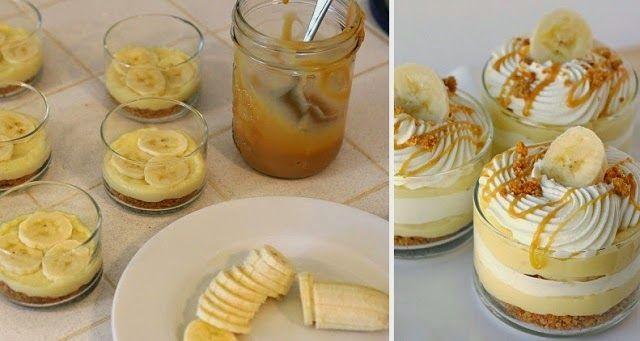 Daddy Cool!: Πανεύκολο γλυκάκι μπανάνα σε ποτήρι!