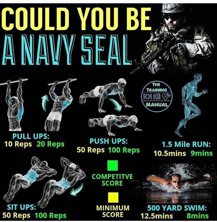 The Navy Seal Workout Calisthenics Workout For Beginners Navy Seal Workout Gym Workout For Beginners
