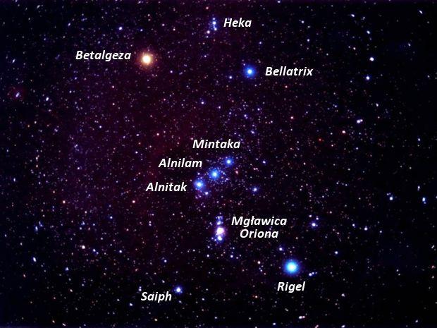 Zobacz koniecznie konstelację Oriona na zimowym niebie | TwojaPogoda.pl