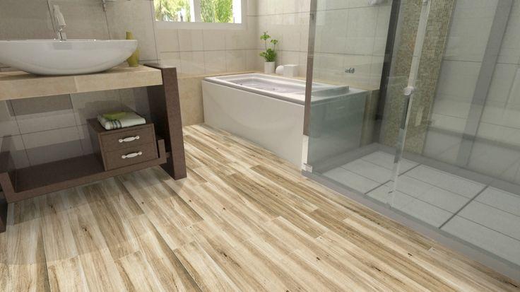 DalTile Saddle Brook Gray 6x36 Wood Plank Porcelain Tile