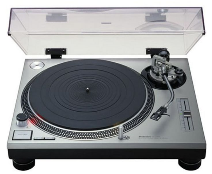 Technics SL-1200 MK2 DJ Turntable Record Player