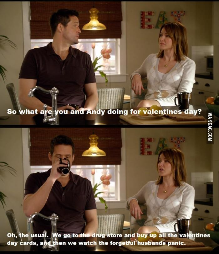 A Valentines Day Tradition | #funny #Cougar_Town quote